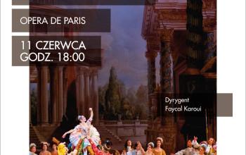 Śpiąca królewna Piotra Czajkowskiego z Opera de Paris 11 czerwca tylko w Multikinie_Plakat