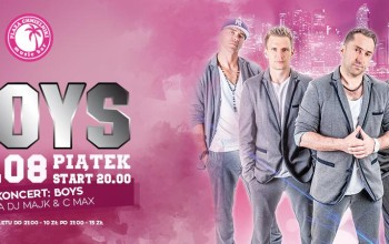 Koncert Boys Chmielniki 14.08